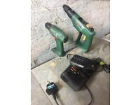 2 x Bosch cordless drills perfect working order £30