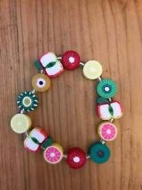 Children's fruit bracelets