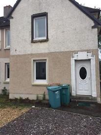 2 bedrooms upper cottage flat to let