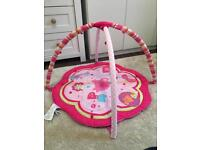 Bright Star Baby Play Mat Gym Pink