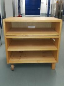 Wood TV cabinet stand