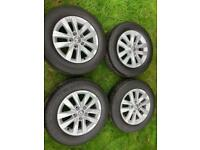 "16"" 17"" VW Transporter T6 T5 Highline Sportline Alloy Wheels Tyres"