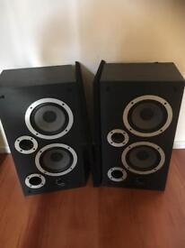 Wharfedale S33 speakers