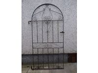"""Wrought Iron Gate 38.5""""Wide x 74"""" Height"""