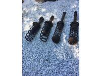 Volkswagen Golf VR6 mk3 front and rear suspension