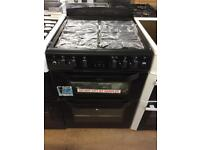 Belling Black 60cm gas cooker