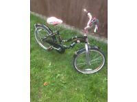 """Girls 20"""" monster high bike"""