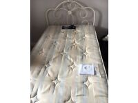 Gorgeous cream single bed for sale