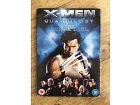 X-men quadrilogy dvd