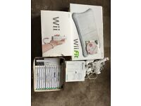 Nintendo Wii with games and accessories. As new condition.