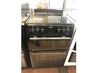 60CM BLACK BEKO ELECTRIC COOKER