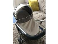 icandy cherry carrycot and pushchair / pram
