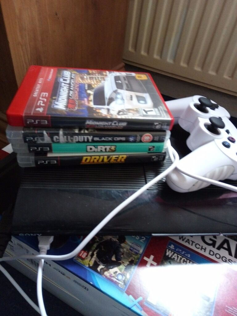 Ps3 with fifa plusin North Petherton, SomersetGumtree - Ps3 500gb with FIFA 17 and 4 other games good working order can be seen working would swap