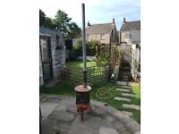 Great wood burner stove rustic