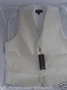 Mens-Wedding-Ivory-Cream-Silk-Waistcoat-S-Small-36-Chest-P-P-2UK-1st-Class