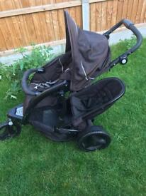 Double pushchair in very good condition