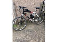 80cc motorised bike spares and repairs