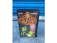 Rare vintage retro THE EVIL DEAD. HS TAPE MOVIE FILM SAM RAIMI BLACK BOX 80s SDHC