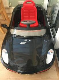 Battery operated toddler/infant car