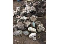 Rockery Stones - free for collection