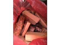 Logs for fire, wood burners