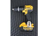 DeWALT 18V 4AH XR LI-ION COMBI DRILL