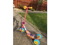 Monkey scooter