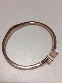 Job Richard crystal bracelet rose gold plated