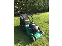 B&Q petrol push lawnmower