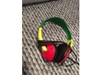 Skullcandy Rasta Headphones