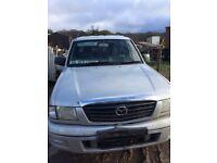 Mazda double cab pickup