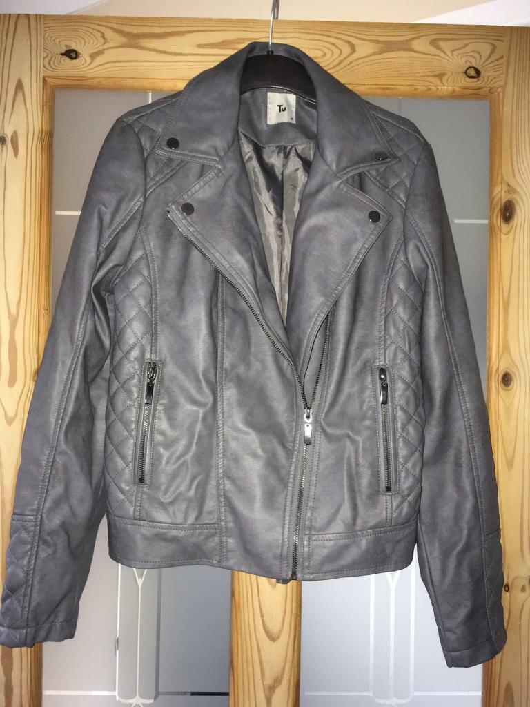 81e848862 TU Faux Leather Biker Jacket size 14 | in Liversedge, West Yorkshire |  Gumtree