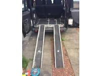 Wheel chair access kit from fiat doblo