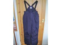 Women's Purple Parallel Salopettes UK Size 14 - unused