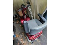 Sterling Shoprider Mobility Scooter with waterproof storage (motorcycle cover)