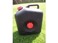 CARAVAN CAMPING WASTE WATER CONTAINER