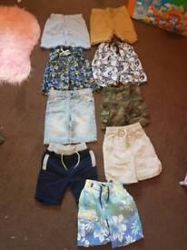 Boys shorts 2 to 3 bundle
