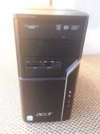 ACER PC TOWER FOR SALE.