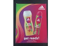 Adidas gift set for Her (deo + shower gel)