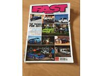 Fast car magazine issues 298 January 2011