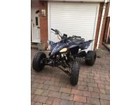 yamaha yfz 450 raptor road registered 2014