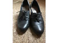 Ladies Camper shoes, black size 7