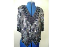 Sequin Evening top