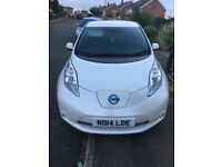 Nissan Leaf ELECTRIC 16000 miles 2014 NEW MOT