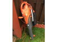 Flymo leaf blower can deliver for a small charge