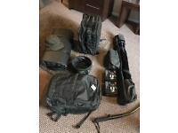 Full scope set up / black opps luggage