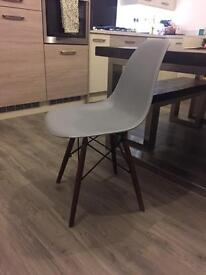 Eames inspired dining chairs x4