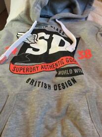 Superdry hoodie small hardly worn