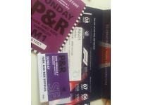 x4 General Admission Tickets for the British Grand Prix .