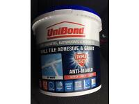 Adhesive & Grout - uni bond BRAND NEW